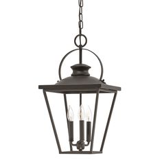 Shop Kichler Lighting Arena Cove 12.01-in W Olde Bronze Pendant Light with Shade at Lowes.com