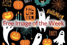 Free Halloween Image of the Week Halloween Clipart, Halloween Images, Cute Halloween, Halloween Backgrounds, October 25, Free Images, Clip Art, Kids, Toddlers