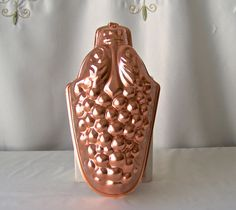 Vintage Copper Tone Grape Cluster Mould Kitchen by CynthiasAttic