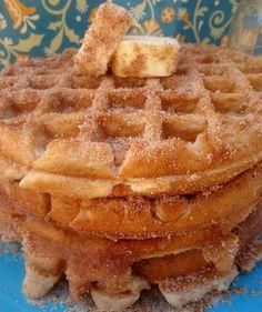 Churro waffles!!!