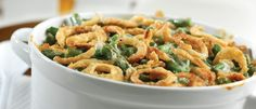 I found this photo on Campbell Soup's web page. It looks like nobody's green bean casserole ever - Thank you for partying with us at #BloggingGrandmothers #LinkParty.