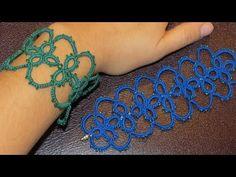 Needle Tatting Bracelet - YouTube