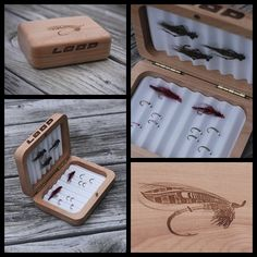 T.G.I.F - Flyday! Loop Canada Fly Box give-away. Wooden fly box containing hand-tied flies from our prostaff. Friday Nov. 29th - flies made by B.C. prostaff, Joe Harris. Loop Canada Fly Fishing.