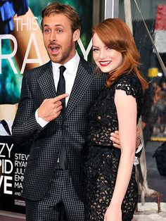 Can't WAIT to see 'Crazy, Stupid, Love'! These two are my favorites!