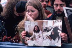 Dec. 8, 1980 — John Lennon's murder in New York City