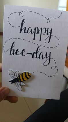 Simple birthday card :)