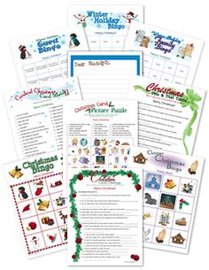 Right Left Christmas Gift Exchange Game using the story of Jesus' birth!!!