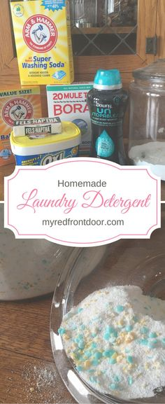 Homemade Laundry Detergent, Laundry detergent, Frugal Laundry, DIY Laundry Detergent
