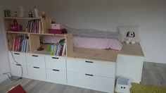 image result for ikea nordli bed hack lastenhuone pinterest ikea bedroom und ikea nordli. Black Bedroom Furniture Sets. Home Design Ideas