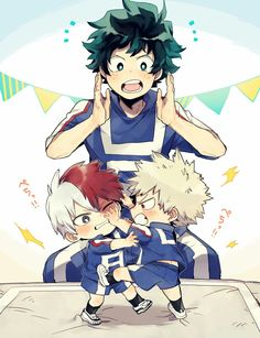 I CAN'T THIS IS JUST SO SO SO CUTE LIKE AJDJSJIKF I MEAN LOOK AT THIS BABIES SHOTO AND KATSUKI