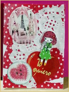 TRADED Serie: I Love Paris No. 03/2015 Técnica: Scrapbook