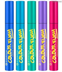 Spring 2014: Essence Eye Product Collection - ColourfLASH Volume Mascaras