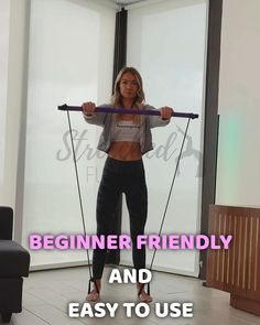 Bar Workout, Pilates Workout, Fitness Workout For Women, Fitness Tips, Low Impact Workout, Flexibility Workout, At Home Workout Plan, Physical Fitness, No Equipment Workout