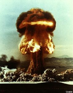 Operation Upshot-Knothole. Shot GRABLE. 15 kilotons. May 25, 1953. Nevada test site.