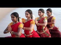 "Sridevi Nrithyalaya - Bharathanatyam Dance - ""Alarippu"" Group presentation"