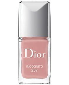 Dior Vernis Gel Shine & Long Wear Nail Lacquer  - Incognito