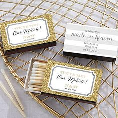 Wedding matches - 50 custom wedding favors, custom matches, personalized matches, matchbox, wedding matchbooks wedding favor  - Measures 2.25 l x