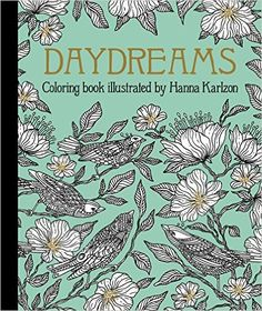 Daydreams Coloring Book Hanna Karlzon Amazonmx Libros
