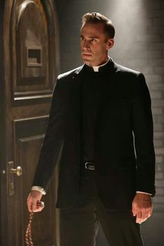 "Joseph Fiennes American Horror Story Asylum. ""That's me in the corner, Losing my Religion.""-AW"