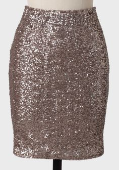 5be9e4491907d All That Glitters Pencil Skirt In Cocoa