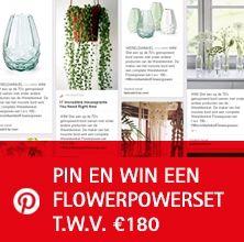 Pin en Win een Flowerpower set! | Wereldwinkels