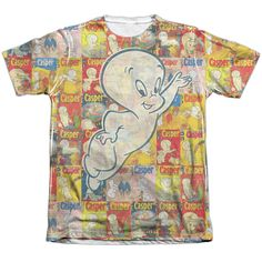 """Checkout our #LicensedGear products FREE SHIPPING + 10% OFF Coupon Code """"Official"""" Casper/covered-adult Poly/cotton S/s T- Shirt - Casper/covered-adult Poly/cotton S/s T- Shirt - Price: $24.99. Buy now at https://officiallylicensedgear.com/casper-covered-adult-poly-cotton-s-shirt-licensed"""