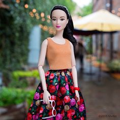 Everything is coming up roses! A fun afternoon with friends. #barbie #barbiestyle