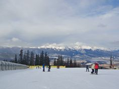 Amazing view at Keystone Ski resort. This is the view from the ski school!