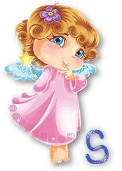 ange-A-19.gif 3 Gif, Cute Alphabet, Thing 1, Love You Forever, Love You All, A 17, The Fool, My Music, Princess Peach