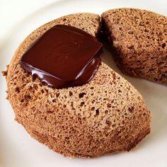 Apple Pie Mugcake with Chocolate
