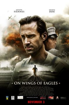 Joseph Fiennes stars as Eric Lidell, the gold medalist subject of 'Chariots of Fire' in 'On Wings Of Eagles,' directed by Stephen Shin and releasing Nov. Image courtesy of WIT PR. Streaming Hd, Streaming Movies, Hd Movies, Movies Online, Movie Tv, Prime Movies, Indie Movies, Joseph Fiennes, Eric Liddell