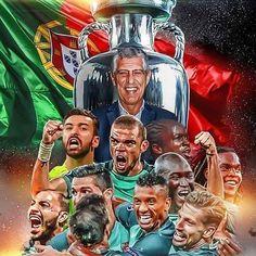 #Portugal Euro 2016 Champions! No Ronaldo. No problem!