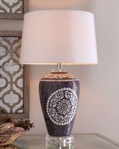 """Mosaic Suzanni"" Lamp - Horchow"