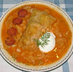 Eastern European Recipes, Hungarian Recipes, Hungarian Food, Best Food Ever, Wonderful Recipe, Main Dishes, Bacon, Curry, Good Food