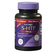 Relaxing, Promotes Positive Mood<br><br>Helps Control Appetite and Promote Normal Sleep<br><br><br>5-HTP 200mg Time Release has a delivery system that releases 5-HTP slowly and then steadily over a period of time. 5-HTP is a drug-free, amino acid derived from plant that naturally increases the body's level of serotonin, the chemical messenger that affects emotions, behavior, appetite, thought and sleep.