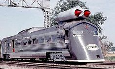 Definitely not glamorous but fast ... This is the M-497, a jet-powered engine was tested in New York during the summer of 1966. No passengers were ever transported, but the train did exceed 183 mph (still a U.S. record today).
