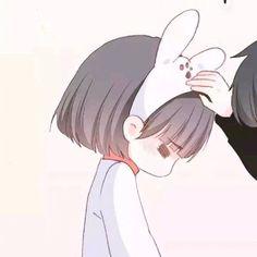 Girl (11) Anime Couple Love, Love Cartoon Couple, Chibi Couple, Cute Couple Art, Manga Couple, Anime Couples Drawings, Anime Couples Manga, Couple Drawings, Cute Anime Couples