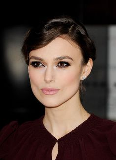 An example of everything being perfect. Makeup and hair how-to for Keira Knightley.