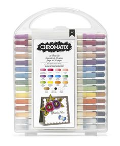American Crafts Chromatix Alcohol blending Marker Set is on sale for 58% off today!
