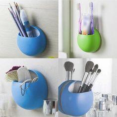 Toothbrush Holder Suction Hooks