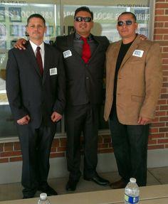 Jayson, Elias and Tony. Laborer Journeymen Local 300. Azusa Training Facility.