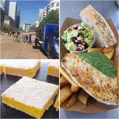 Espadon Pesto et Lemon Square pour @Parisladefense Cape Cod, Pesto, Ethnic Recipes, Food, In Season Produce, Cabin, Fish, Cod, Essen
