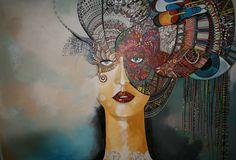 AFRICANDREAM acrylik on canvas 100x150cm