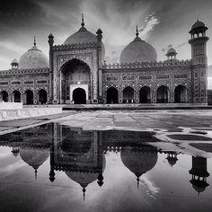 Badshahi Masjid in لاہور, Punjab