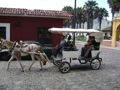 Paseo en carreta por las principales calles de Antigua