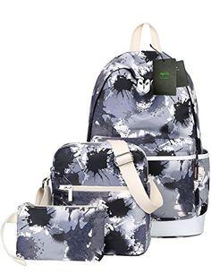 Mygreen Artistic Paint School Bag Backpack Cute Lightweight Teen Girls  Backpacks School Shoulder Bags Laptop Bookbags 9a6257edd0e85