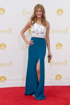 Anna Gunn Jenny Packham at the 2014 Emmy Awards