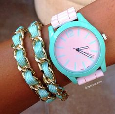 Love the turquoise color