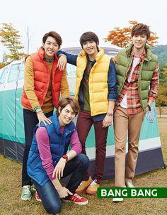 BANG BANG F/W 2013 Campaign Feat. CNBLUE & Kang Sora : Couch Kimchi