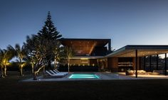 Mollymook House lighting design by Electrolight